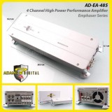 Adams Digital Emphaser Series EA-485 4 Channel High Power Performance Power Amplifier