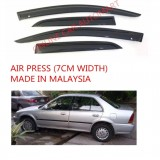 AG Air Press Door Visor Wind Deflector (Made in Malaysia) - Small 7 cm Width for HONDA CITY YR1995