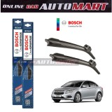 Chevrolet Cruze-BOSCH CLEAR ADVANTAGE WIPER BLADE (Compatible only with U-Hook Type)-18 inch & 24 inch