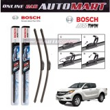 Mazda BT-50/Mazda Fighter - Bosch Aerotwins Wiper Blade (set)100 % Genuine Bosch Malaysia  (1 Pair)  - 18 inch & 18 inch