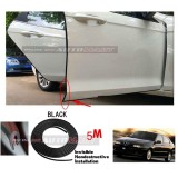 Alfa Romeo 145-5M (BLACK) Door Trim Rubber Scratch Protector Tape (4 Doors)