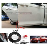 Alfa Romeo 155-5M (BLACK) Door Trim Rubber Scratch Protector Tape (4 Doors)