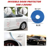 Alfa Romeo 145/146 - 16FT/5M (BLUE) Moulding Trim Rubber Strip Auto Door Scratch Protector Car Styling Invisible Decorative Tape (4 Doors)