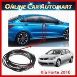 Kia Forte 2010 16FT/5M (Carbon) Moulding Trim Rubber Strip Auto Door Scratch Protector Car Styling Invisible Decorative Tape (4 Doors)