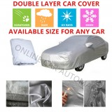 High Quality Double Layers Waterproof PEVA PVC Car Cover For New Perodua Myvi 2018/2019