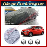 New Perodua Myvi 2018/2019 -High Quality Universal Fit Single Layer Car Cover Water Repellent,100% UV Resistant,Breathable