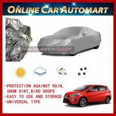 New Perodua Myvi 2018/2019 Yama High Quality Durable Car Covers Sunproof Dust-proof Water Resistant Protective Anti UV Scratch Sedan Cover