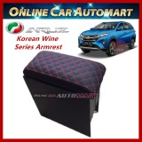 Korean Wine Series Armrest For Perodua Aruz 2019