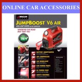 Wagan Tech V6 Jump Start Booster 600A JumpBoost With Air Compressor And Charger Port