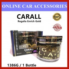 1x Original CARALL Regalia Enrich Velvet Musk GOLD Series / 1386G Air Refreshener 65ml (Special Edition)( Made in Japan)