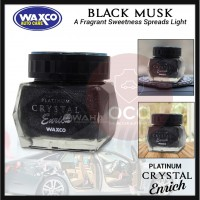 WAXCO Car Perfume Platinum Crystal Enrich Essence Black Musk 85ML-(Buy More Get More Discount)