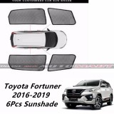 Custom Fit OEM Sunshade / Sun shades for Toyota Fortuner 2016 - 2019