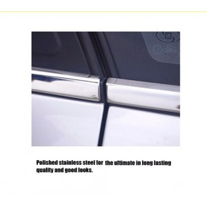 Naza sutera Window Trim Chrome Lining / Door Belt Moulding (4pcs)