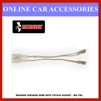 MOHAWK Plug n Play Speaker Or Tweeter Wire Socket with Terminal Connector for Toyota