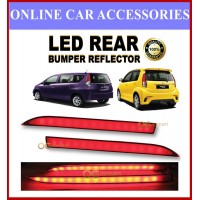 Perodua Alza Old (2009-2013) / Myvi 2012 - 2014 (Lagi Best) Led Rear Bumper Reflector Red ( 2pcs/set )