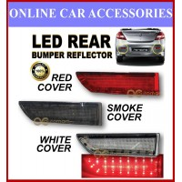 Proton Persona 2005-2015 Led Rear Bumper Reflector Red, Smoke, White ( 2pcs/set )
