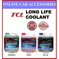(2L) Made In Japan TCL Long Life Coolant Proton Perodua Toyota Honda Mitsubishi Nissan Kia Hyundai (Red / Blue / Green)