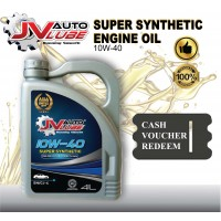 ( Cash Voucher Redeem ) JV Auto Lube - Engine Oil 10W-40 Original
