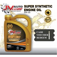 ( Cash Voucher Redeem ) JV Auto Lube - Engine Oil 5W-30 Original