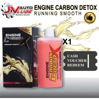 ( Cash Voucher Redeem ) 1 Bottle JV Auto Lube - Engine Carbon Detox Running Smooth Original