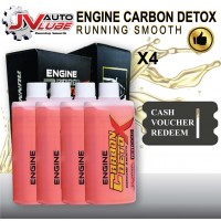 ( Cash Voucher Redeem ) 4 Bottle JV Auto Lube - Engine Carbon Detox Running Smooth Original