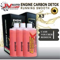 ( Cash Voucher Redeem ) 3 Bottle JV Auto Lube - Engine Carbon Detox Running Smooth Original