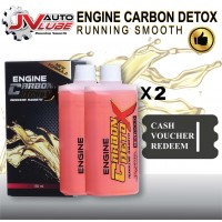 ( Cash Voucher Redeem ) 2 Bottle JV Auto Lube - Engine Carbon Detox Running Smooth Original