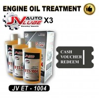 ( Cash Voucher Redeem ) 3 Bottle Original JV Auto Lube - Engine Oil Treatment (JV ET-1004 )
