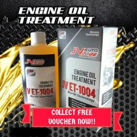 ( Cash Voucher Redeem ) 1 Bottle Original JV Auto Lube - Engine Oil Treatment (JV ET-1004 )