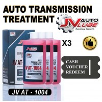 ( Cash Voucher Redeem ) 3 Bottle JV Auto Lube Auto Transmission Treatment Gearbox Treatment ATF DSG CVT Treatment (JV AT-1004)