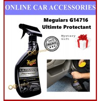 ( Free Gift ) Meguiar's G14716 Ultimate Protectant 450ml Spray Type Meguiars Interior Dashboard Plastic Care