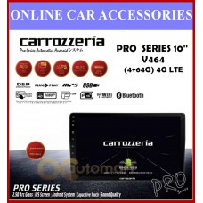 """Carrozzeria PRO-Series Android Player 10.1"""" Inch DSP Premium QLED Screen PRO-V464 4G LTE (4+64g)"""