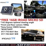 Alfa Romeo 145/146-IROAD T9 WIFI 2CH Blackbox Dashcam 16GB Set FullHD 1080p WIFI DVR Car Vehicle Video Recorder - Dash Camera Video Recorder Digital DVR Recorder
